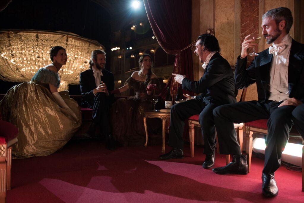 La traviata  - Regia Mario Martone - PH. CREDIT: Fabrizio Sansoni