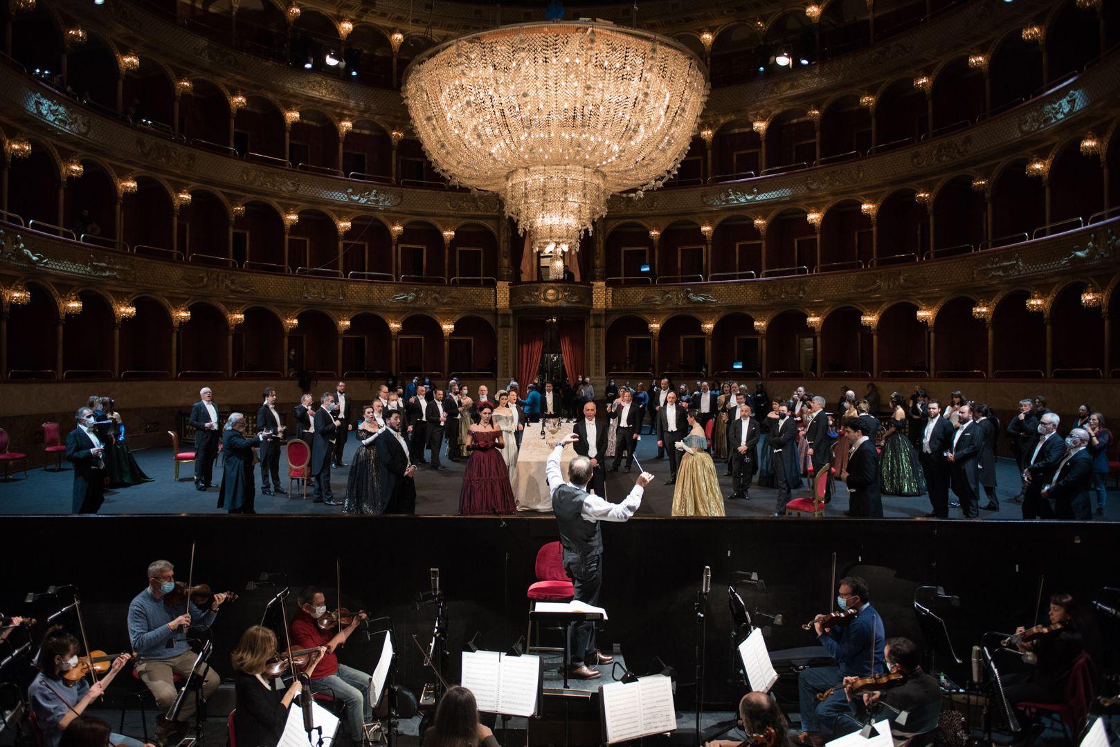 Prove La traviata - PH. CREDIT: Fabrizio Sansoni