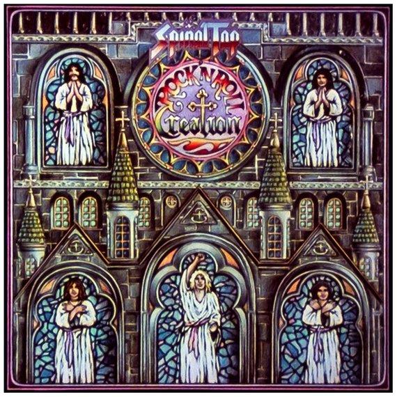 copertina LP Rock'n'roll Creation degli Spinal Tap
