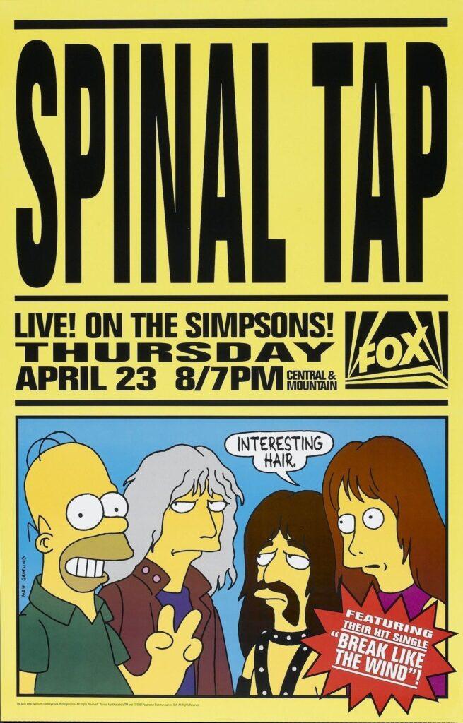 Spinal Tap in una puntata dei Simpson