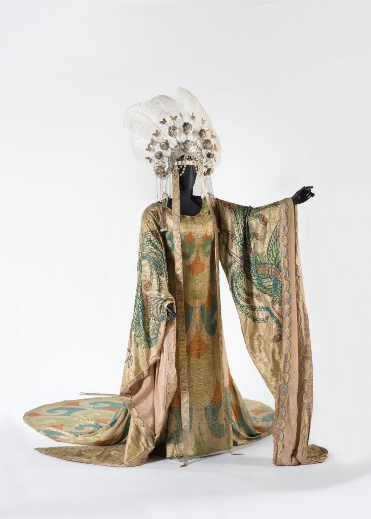 Luigi Sapelli (in arte Caramba) - Costume di Turandot [atto II] Prato, Museo del Tessuto - inv. n. 18.03.38