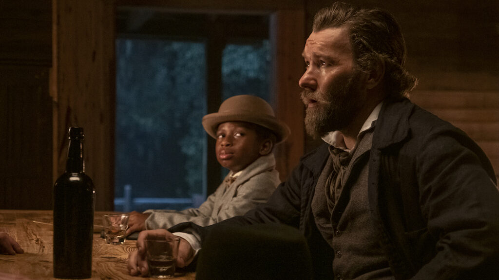 Joel Edgerton in Underground Railroad - Credits: Amazon Studios/Prime Video