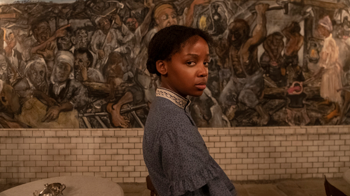 Cora (Thuso Mbedu) in Underground Railroad - Credits: Amazon Studios/Prime Video