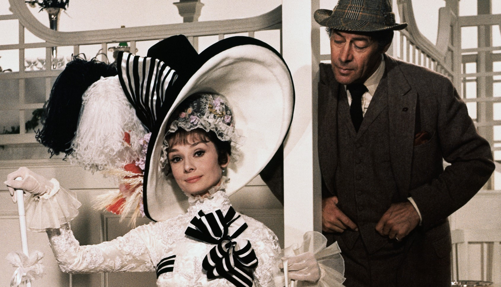 Audrey Hepburn e Rex Harrison - My Fair Lady - Credits Warner Bros.
