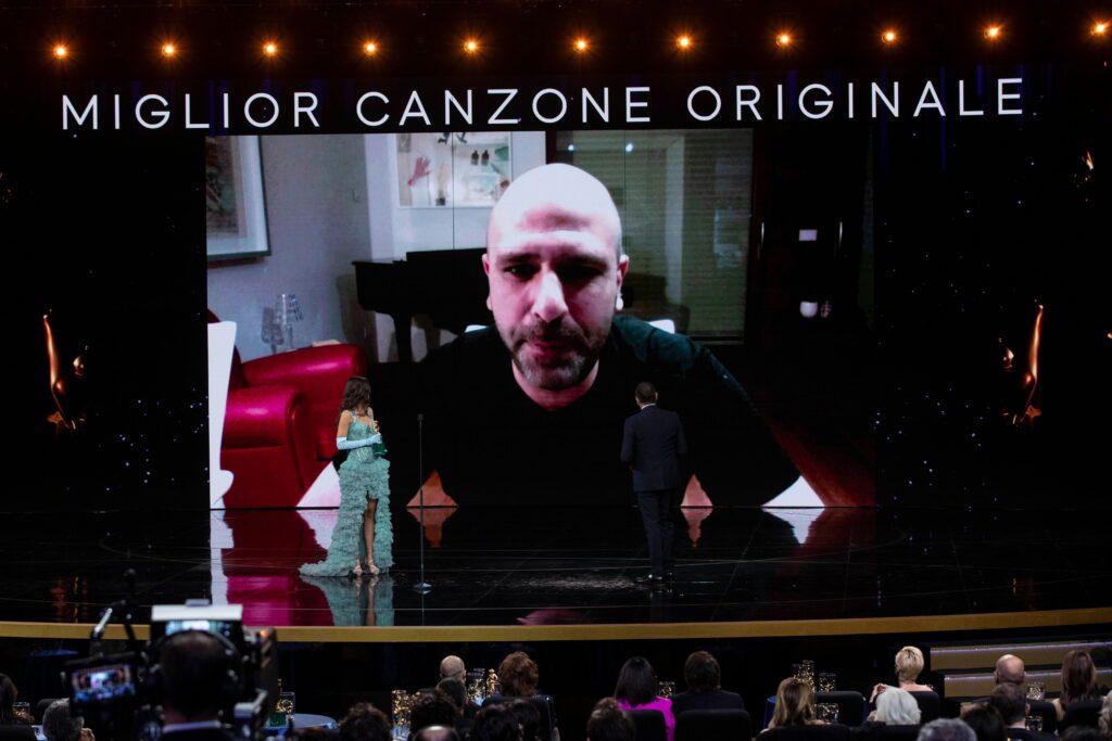 Luca Medici, meglio conosciuto come Checco Zalone - Foto di proprietà dell'Accademia del Cinema Italiano – PremiDavid di Donatello © Luca Dammicco