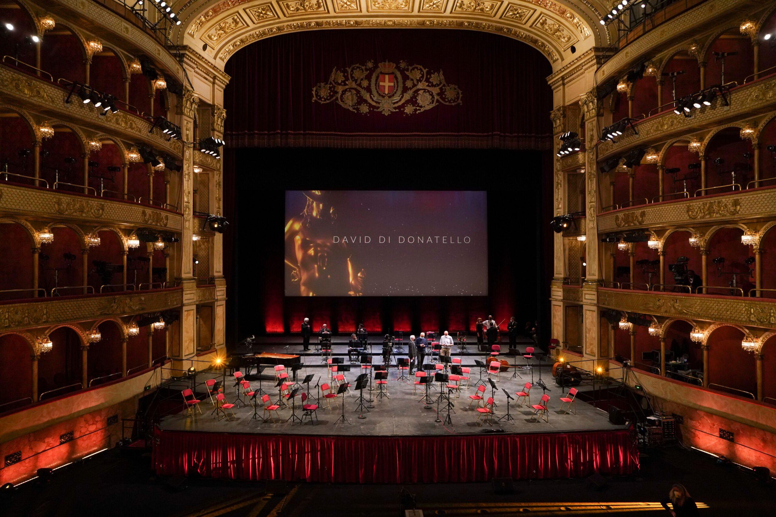 David di Donatello 2021 dal Teatro dell'Opera di Roma. Foto di proprietà dell'Accademia del Cinema Italiano – Premi David di Donatello © Emanuele Manco
