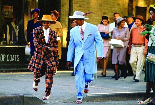 Spike Lee e Denzel Washington in Malcolm X (Spike Lee, 1992)