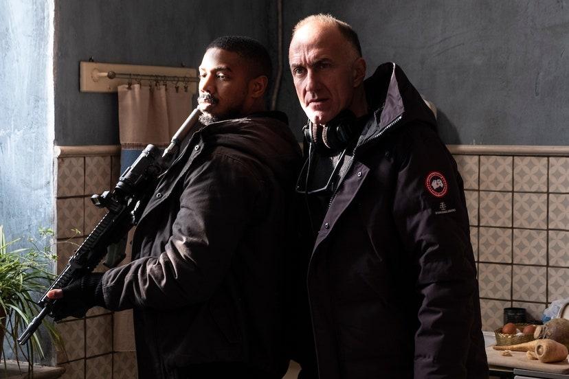 Michael B. Jordan e Stefano Sollima sul set di WITHOUT REMORSE Foto: ©Nadja Klier  © 2020 Paramount Pictures