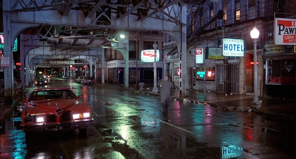 West Van Buren Street in un fotogramma tratto da The Blues Brothers