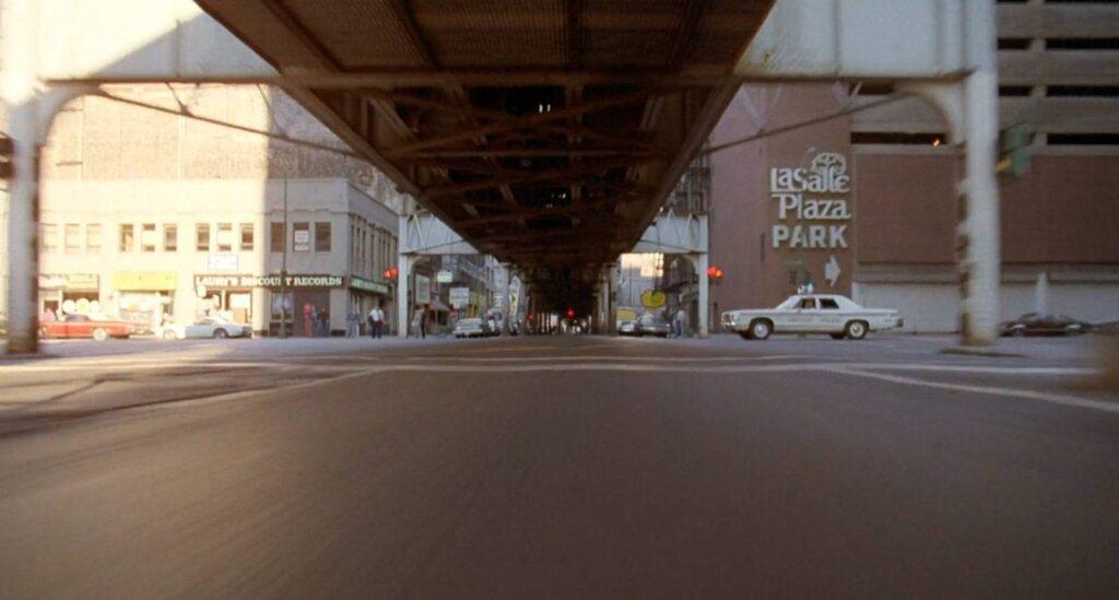 Lower Wacker Drive (Chicago)  in un fotogramma tratto da The Blues Brothers