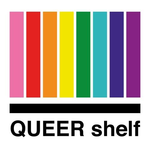Queer Shelf Logo - Credits: Queer Shelf Podcast