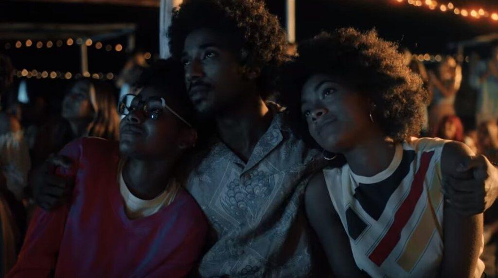 S-D: Alicia Ann Edogamhe, Alberto Boubakar Malanchino, Coco Rebecca Edogamhe in SUMMERTIME - Credits: Netflix