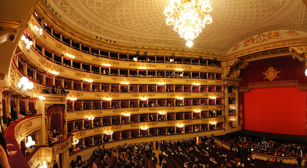 """""""Teatro alla Scala"""" by sfer is licensed under CC BY-NC-SA 2.0"""