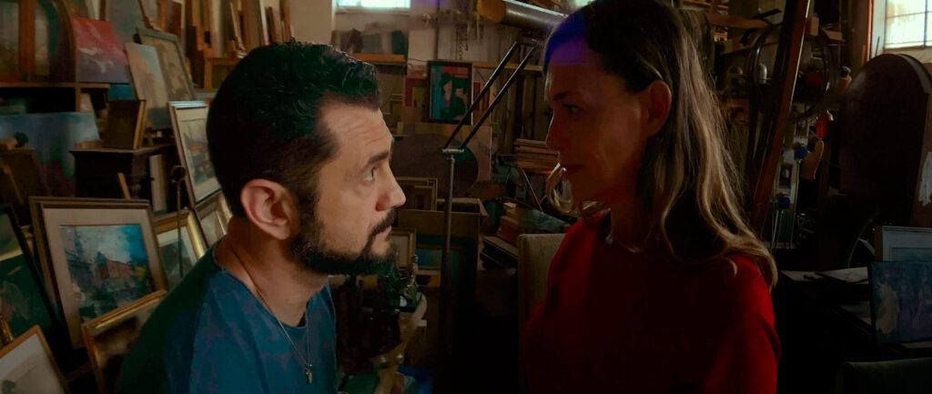 """Vinicio Marchioni e Milena Mancini in una scena del film """"Il giorno e la notte"""""""