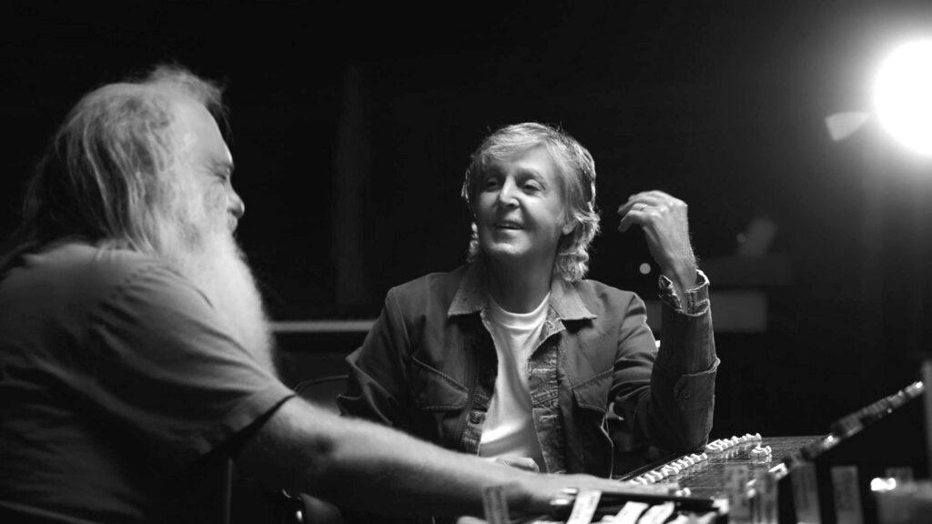 McCartney 3,2,1 -- Paul McCartney e Rick Rubin - Photo Courtesy: Hulu