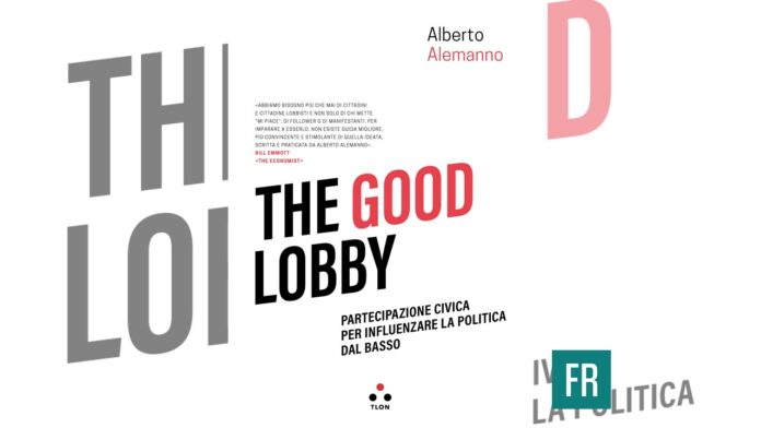 The Good Lobby, Alberto Alemanno, Edizioni Tlon