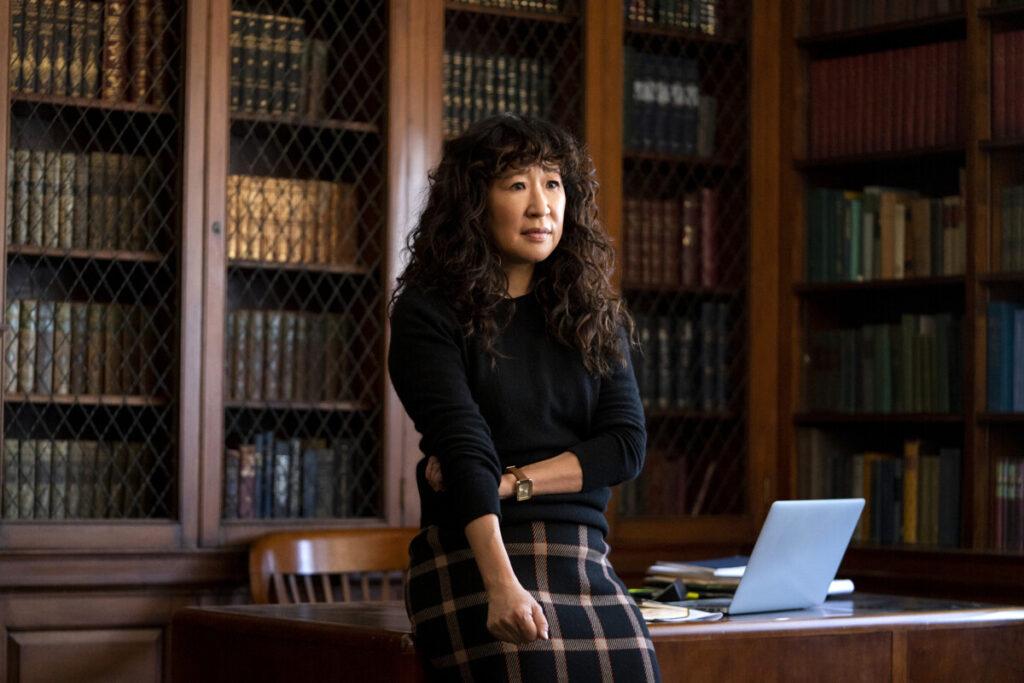 Sandra Oh in La direttrice - Netflix agosto 2021