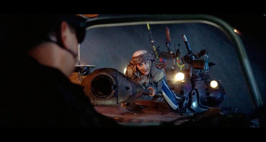 Una scena da Tank Girl (Rachel Talalay, 1995)