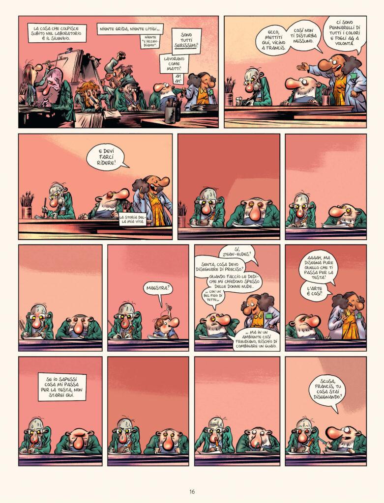 Estratto Terapia di gruppo vol. 2, Concepire un'idea- Manu Larcenet- Coconino Press