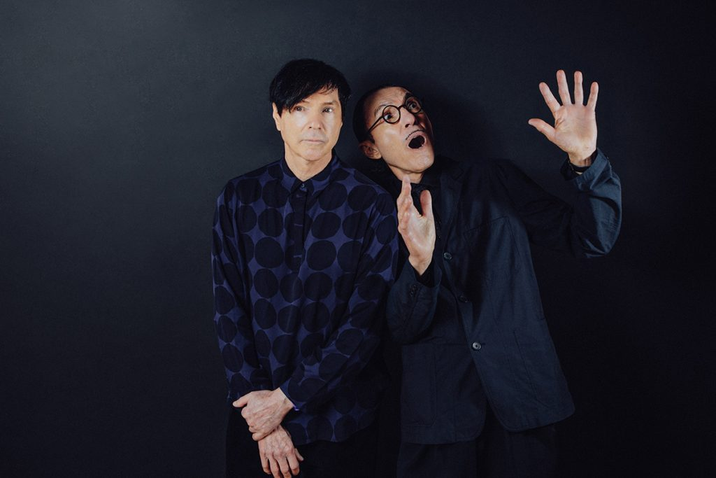 Russell e Ron Mael (Sparks)